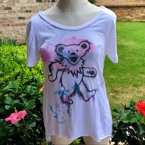 Chaser Grateful Dead Bear Tee